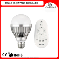 Inlit 2.4G E27 10W RGBW LED Smart Bulb Light Lamp Wi-Fi Remote Control