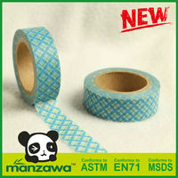 Manzawa stainless steel adhesive tape for decoration
