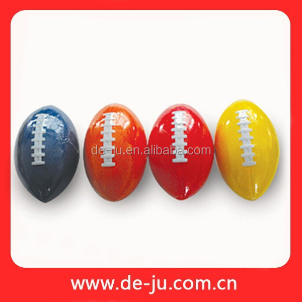 PU Soft Foam Rugby Ball Toy Advertising Small Gifts Sponge Logo Print Foam Ball