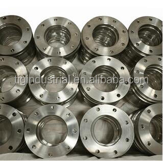 Oem Stainless Steel Casting Spare Parts SS304 Flanges