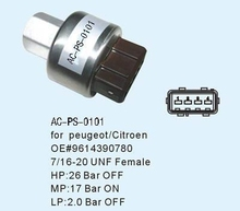 pressure switch for passange car PEUGEOT OE#9616390780 high and low pressure