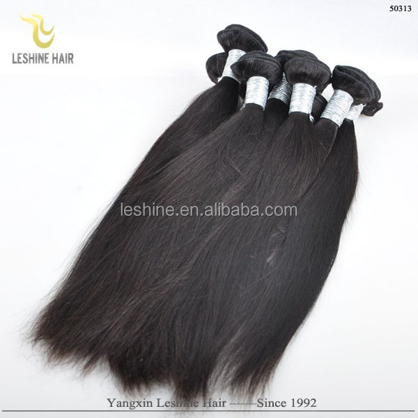 Big Discount!!! Good Feedback Wholesale Alibaba Top Grade Natural Black No Shedding plain malaysia hair weave