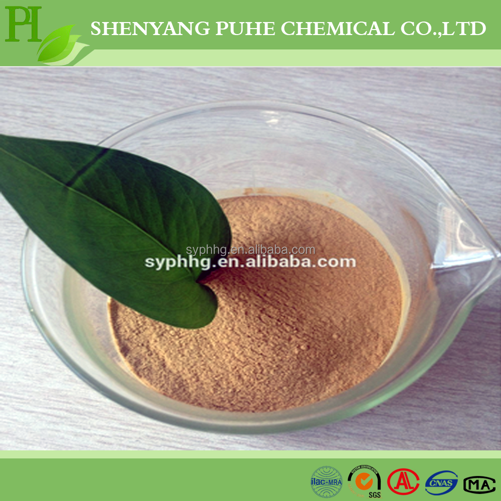 yellow powder MG-2 calcium lignin sulfonate msds