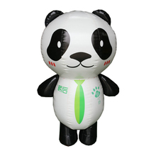 2018 Trending Products Outdoor Advertising Model Balloon Blow Up Cartoon Bear Animal Mascot Giant Inflatable Panda For Sale