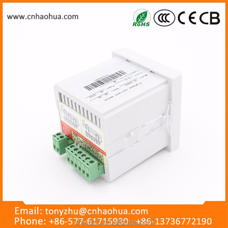 Hot sale 72 series three phase dc current meter,power source