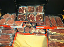 56 CUTS USDA CHOICE GRADE STEAKS VARIETY PACKS VACUUM SEALED