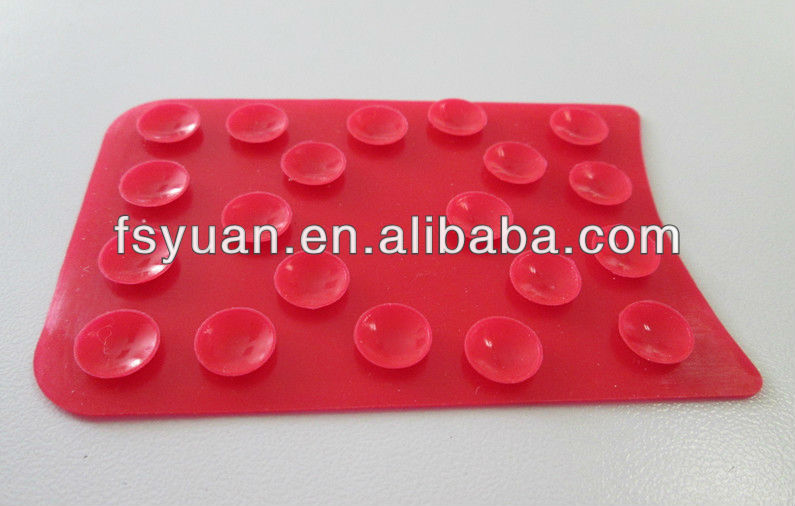 Silicone sucker/silicone suction cup for phone