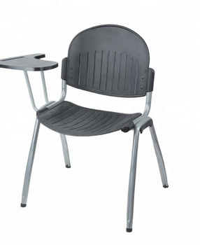Modern pp writing pad plastic school chairs for sale