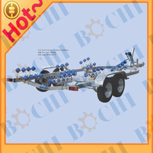 22 Feet 2000 Kg Load Galvanized Aluminum Boat Trailer