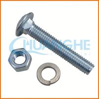 China wholesale g8.8 bolt/carriage bolts with ASTM DIN JIS Standard