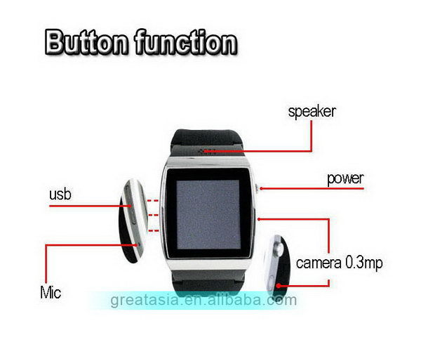 High quality hotsell watch mobile phone wrist smart phones
