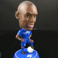 Custom made soccer player plastic action figure toys,football sport man action figure