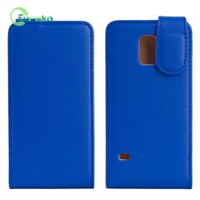 Wholesales Back cover PU mobile phone leather case with wake-up function for Samsung Galaxy S5 mini