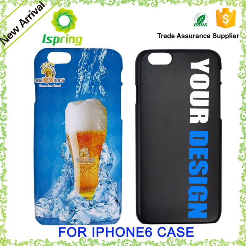 2015 beer design custom design cell phone case for iphone 6 case