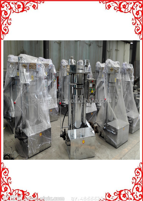 Serviceable essential sunflower oil cold press pressing extraction equipment for sale with CE approved