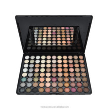 High quality With eyeshadow brush Cosmetic 88 warm colors eye shadow Palette