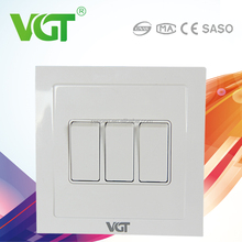 Green and eco-friendly 5-year warranty time domestic electrical switches