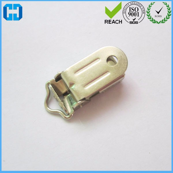 Wholesale 11 MM Metal Suspender Clips For Pacifier Holder