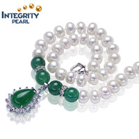 good quality 8-9mm freshwater pearl necklace jewelry