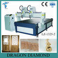 Multi-Spindle CNC Router / cnc engraving machine with two spindles/ wood cnc router LZ-1325-2