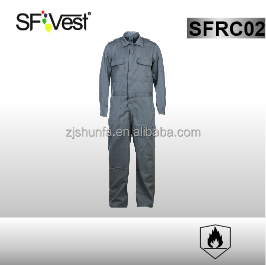 workwear coverall flame retardant overalls uniform design waterproof overalls