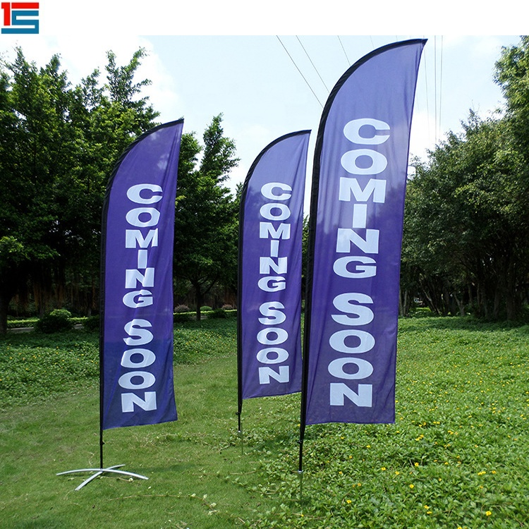 5m with 14 Flags Under New Management Sign  POS Polyester Flag Bunting
