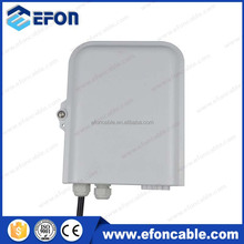 ftth epon onu modem 1x8 plc splitter cable glands distribute box