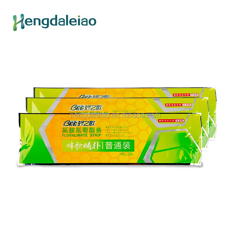 High effective mites killer miticide Fluvalinate strip for Bees
