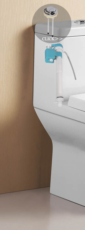 Professional design rectangle toilet cistern button