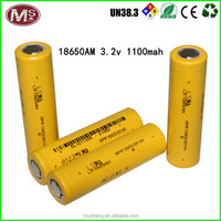 rechargeable li ion battery 18650 battery 3.2v lifepo4 battery cell
