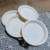 One Time Use Tableware Organic Biodegradable Party Plate