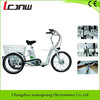 Hot sale made in China manufactory factory 36v 350w electric tricycle for adults,three wheel electric tricycle