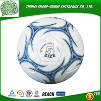 2015 hot sale Screen Printing street soccer ball