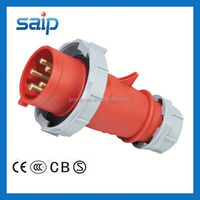 New Generation Series Screw Install Type industrial socket and plug ip67