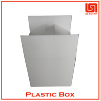 Clear plastic packaging box wholesale in china