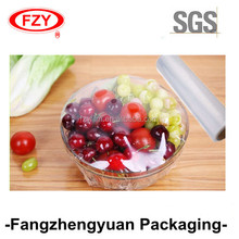 china manufacturer transparent best fresh PE cling wrap film for food