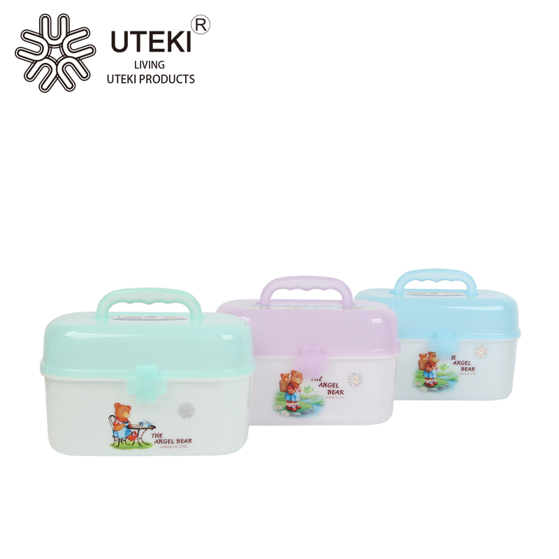 High quality healthy plastic medical case with lock