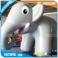 2017 Hot new products inflatable cartoon characters elephant