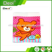 Deoi OEM professional stationery factory waterproof thread gluing Plastic PP Book Cover with logo printing