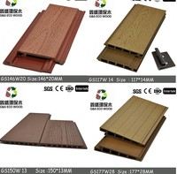 G&S 2015 NEW design! anti-UV,water-proof wpc decorative wood wall plank