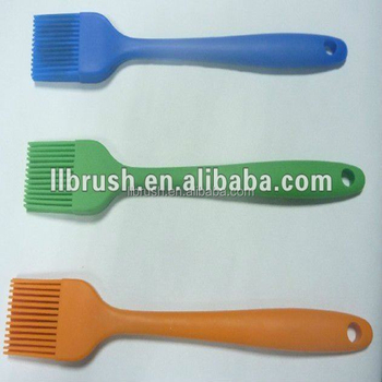 2017 USA hot sale bbq brush high temperature silicone basting brush