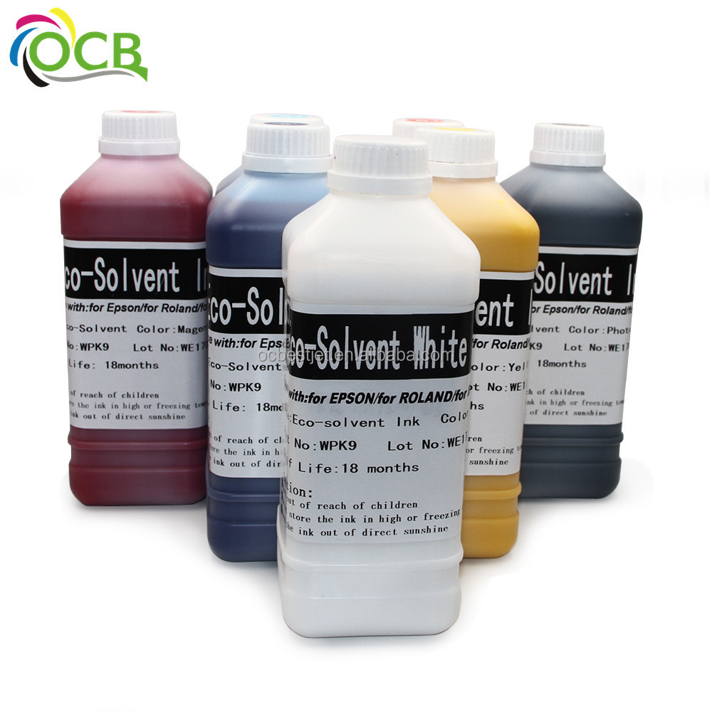 OCBESTJET 2017 top sale solvent ink for hp 2580 ink cartridge