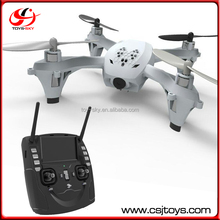 Dual 2.4GHz 4CH 4.3 Inch LCD Monitor Remote Control Aerial Mini FPV Drone With 0.3MPX HD Camera Similar with hubsan x4