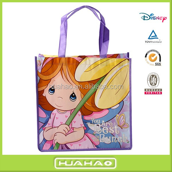 promotional non woven laminated bags for kids