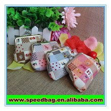Cartoon lovely mini wallet coin purse Small gift wholesale children's COINS cotton gift bag