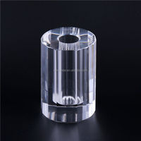Hot Selling simple design hand cut crystal vase from manufacturer