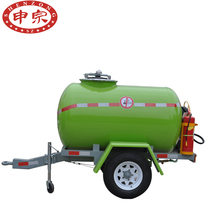 Hot sale small fuel tank trailer for car aviation fuel trailer