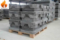 High alumina refractory precast fire block