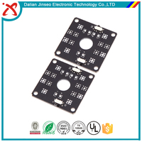 Fr4 double sided helicopter 94v0 remote control pcb factory