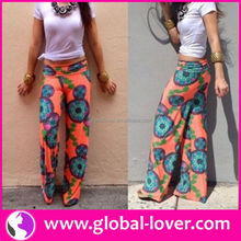 factory price balloon harem pants for women